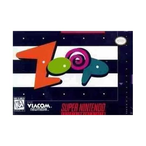 Image 0 of Zoop For Super Nintendo SNES Puzzle