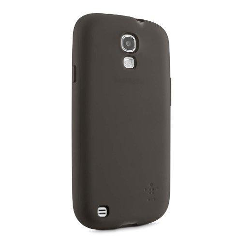 Image 2 of Belkin Sheer Matte Case Cover For Samsung Galaxy S4 Black