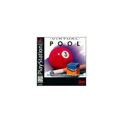 Virtual Pool For PlayStation 1 PS1