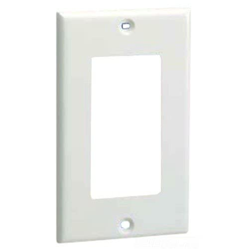 Panduit Cpgiw 1-GANG 1-port Raceway Faceplate Off White