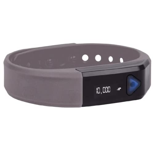 Gnc Bluetooth Activity Band Pro Track Ultra Pedometer Silver Wireless