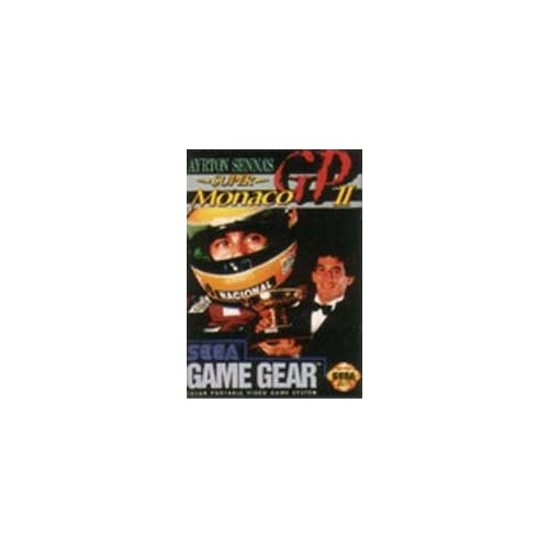 Super Monaco Gp II For Sega Game Gear Vintage Racing