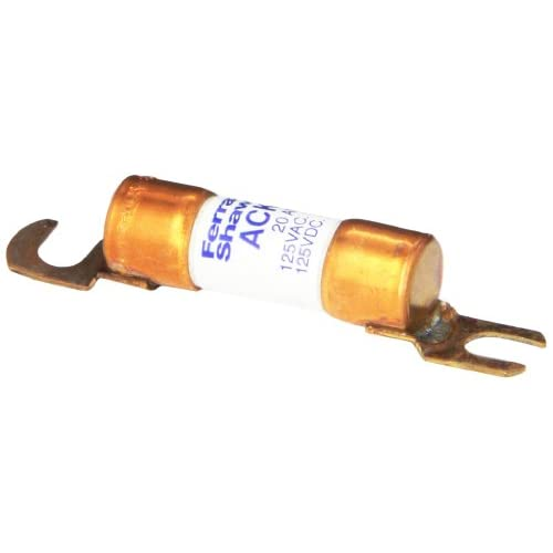 Image 0 of Mersen Ack Poly Tube Forklift Truck Fuse 125VAC/DC 10KA AC/DC 20