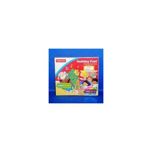 Image 0 of Fisher Price Little People Holiday Fun Christmas Sing Along By Little
