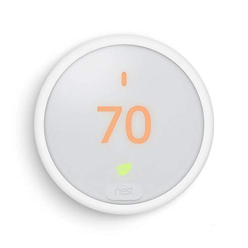 Image 0 of Nest T4000ES Learning Thermostat E White
