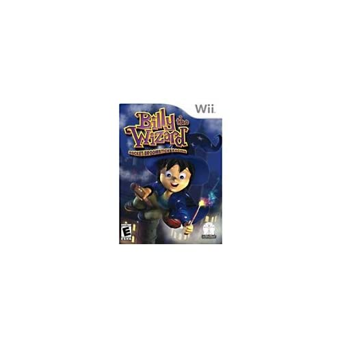 Image 0 of Billythewizard Billy The Wizard Rocket Broomstick Racing For Wii