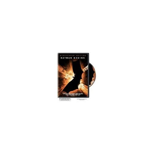 Image 0 of Batman Begins Singledisc Widescreen Edition With Christian Bale On DVD