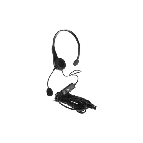 Image 0 of Sony USB Chat Headset For PlayStation 3 PS3 Microphone Mic Black 1154789