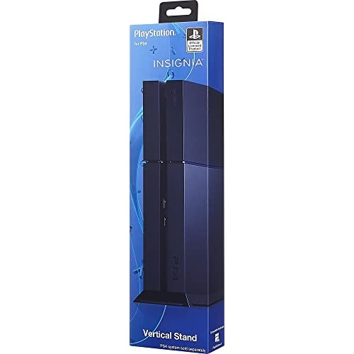 Image 0 of Insignia Vertical Stand For PlayStation 4 PS4 Black NS-GPS4S101