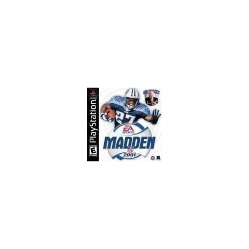 Madden NFL 2001 For PlayStation 1 PS1 Football