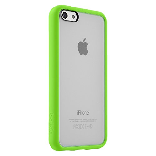 Image 0 of Belkin View Cell Phone Case For iPhone 5C Green Cover