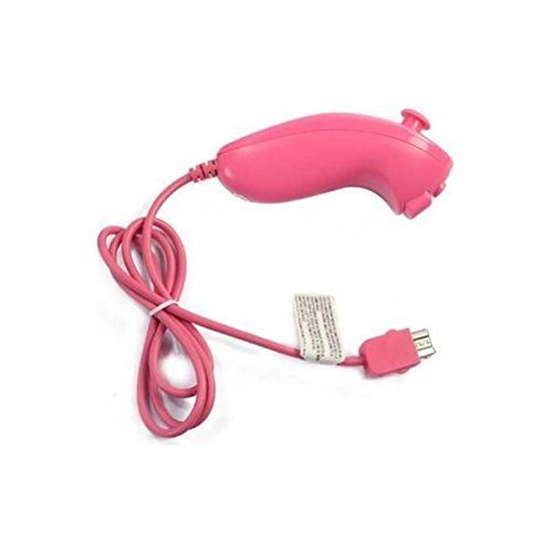 Image 0 of Generic Nunchuck Controller For Video Game Pink For Wii  Gamepad ZPV543