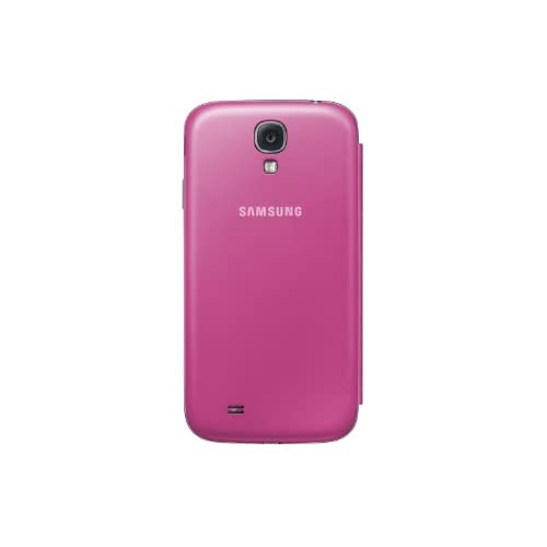 Image 3 of Samsung Galaxy S4 Flip Cover Folio Case Pink Fitted EF-F1950BPESTA