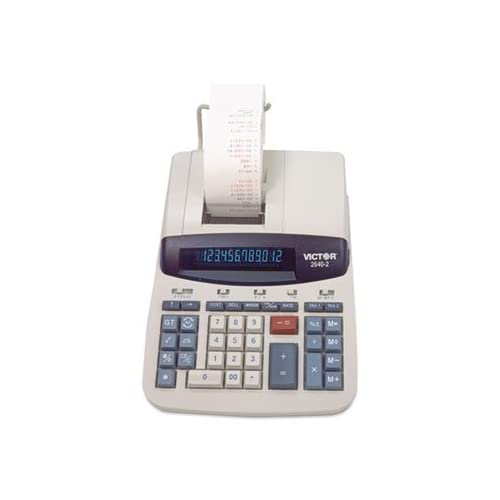 Image 0 of Victor 26402 Two-Color Printing Calculator Black/red Print 4.6 Lines/sec 2