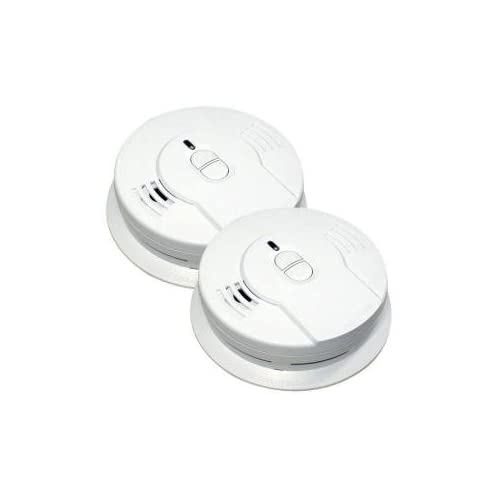 Kidde 21010019 10-YEAR Lithium ION Battery Operated Smoke Alarm 2-pack