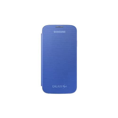 Image 2 of Samsung Galaxy S4 Flip Cover Folio Case Light Blue Fitted