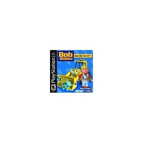 Bob The Builder: Can We Fix It? Ps For PlayStation 1 PS1 With Manual And Case