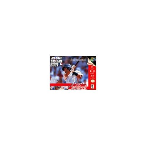 All-Star Baseball 2001 For N64 Nintendo