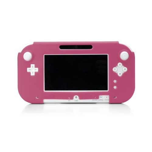 Image 0 of Wii U Gamepad Silicone Jacket Pink