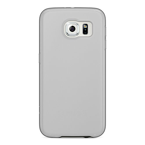 Image 2 of Belkin Grip Candy SE For Galaxy S6 Smartphone Clear Blacktop Textured