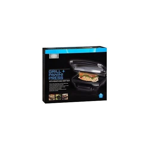 Living Solutions Grill And Panini Press  Multi-Color XNC445
