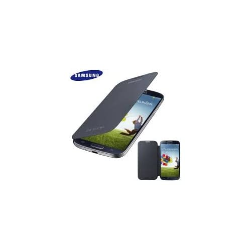 Image 0 of Samsung Galaxy S 4 Flip Cover Black Case