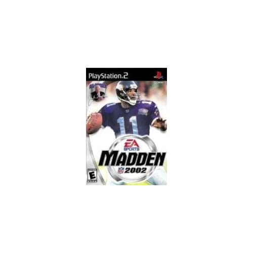 Image 0 of Madden NFL 2002 For PlayStation 2 PS2 Football