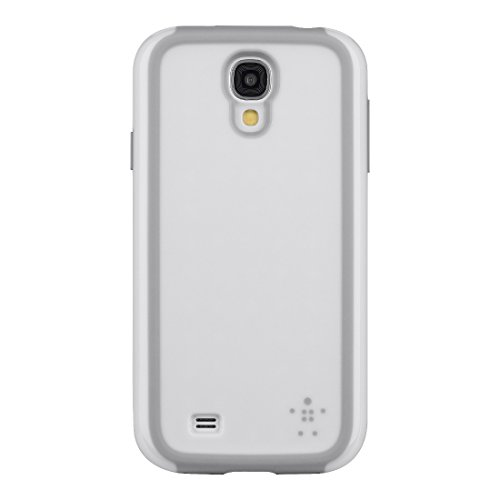 Belkin Grip Max Cell Phone Case For Samsung Galaxy S4 White Cover Fitted
