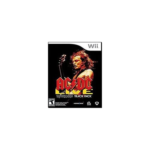 AC/DC Live: Rock Band Track Pack Music For Wii And Wii U