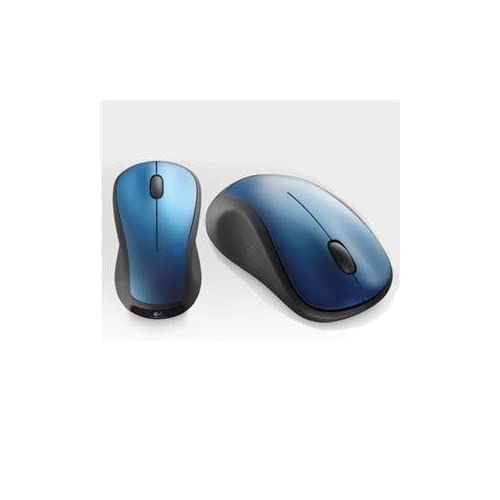 Image 0 of Logitech 910-001917 Wl Mouse M310 Peakcock Blue Wireless Radio Frequency USB Scr