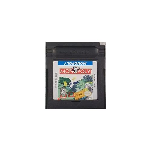 Monopoly Gameboy Color GBC On Gameboy Color Board Games