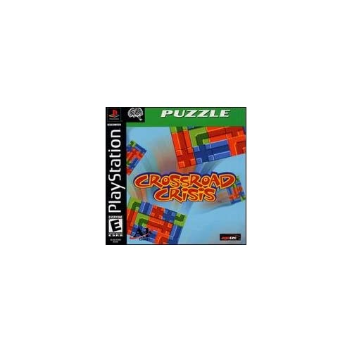Image 0 of Crossroad Crisis For PlayStation 1 PS1 Puzzle