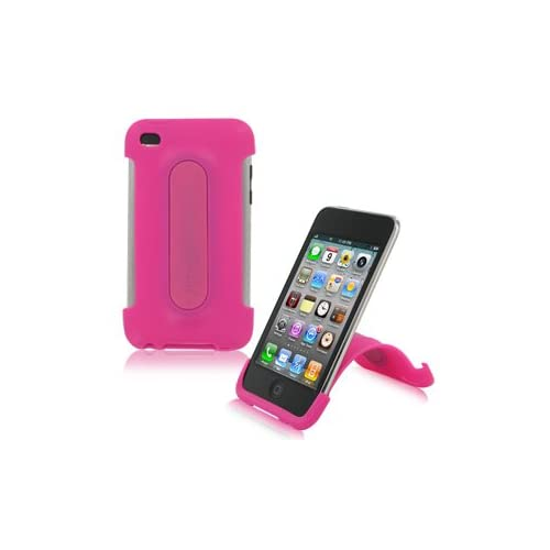 Xtrememac iPod Touch 4G Snap Stand Bubble Gum Pink Fitted