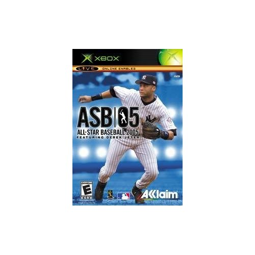 All-Star Baseball 2005 For Xbox Original With Manual and Case