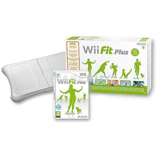 Image 0 of Nintendo Wii Fit Plus With Balance Board