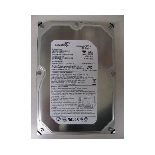 Image 0 of Seagate ST3250823A 250GB UDMA/100 7200RPM 8MB IDE Hdd