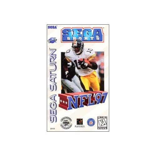 NFL '97 For Sega Saturn Vintage Football