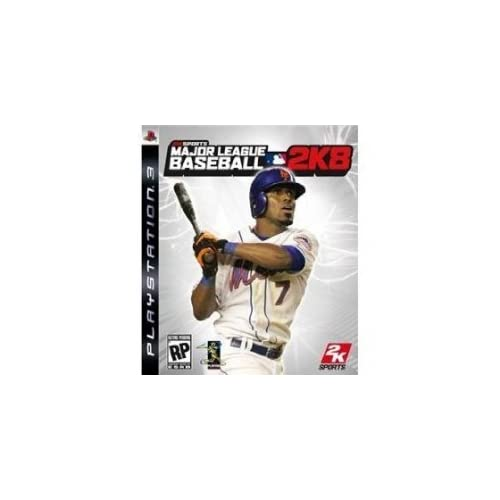 Major League Baseball 2K8 For PlayStation 3 PS3