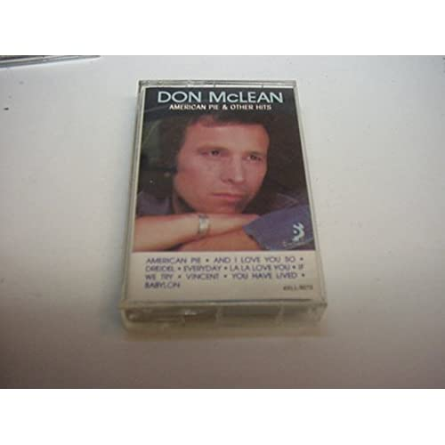 American Pie And Other Hits By Don Mclean On Audio Cassette