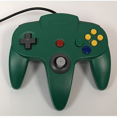Image 0 of Nintendo N64 Green Replacement Controller By Mars Devices