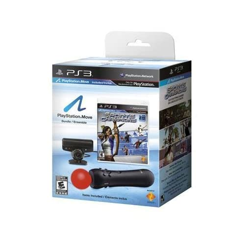 Image 0 of PlayStation 3 Move Bundle W/sports Champions Game Get Into The Game!