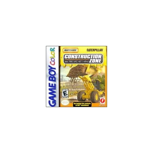 Matchbox Caterpillar Construction Zone On Gameboy Color