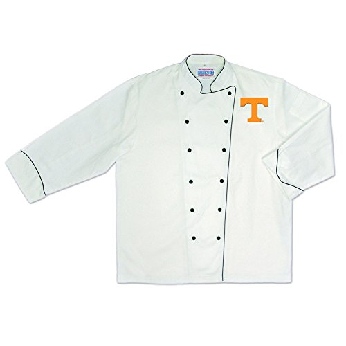 NCAA Tennessee Volunteers Premium Chef Coat Large Costume