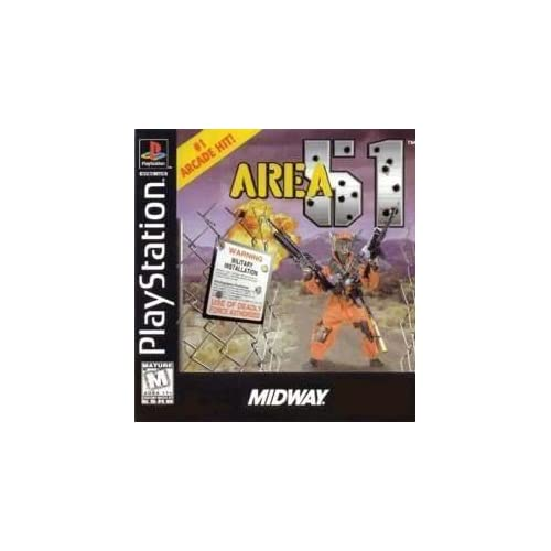 Area 51 For PlayStation 1 PS1