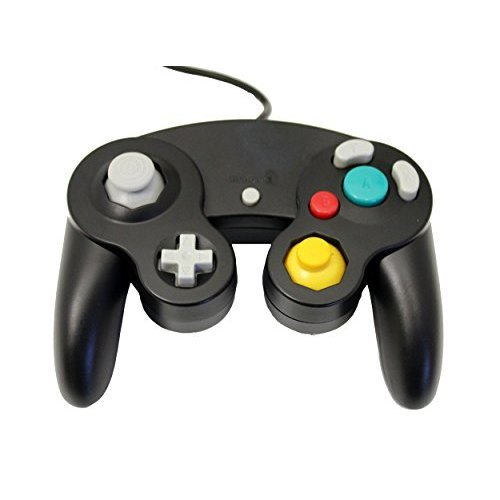 Image 0 of GameCube USB Controller Black For Windows MAC And Linux By Mars