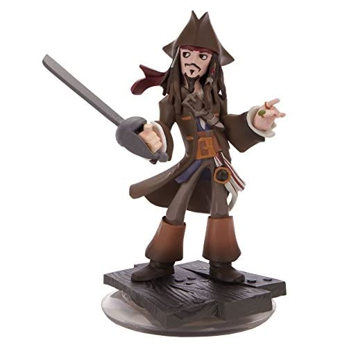 Captain Jack Sparrow Disney Infinity Figure Loose No Card Character
