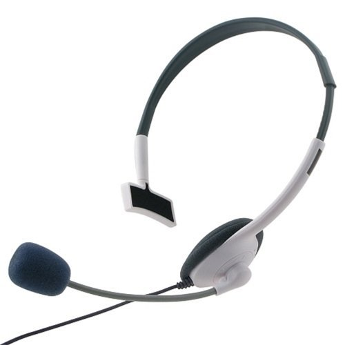 generic small live headset with mic compatible with for xbox 360. Black Bedroom Furniture Sets. Home Design Ideas