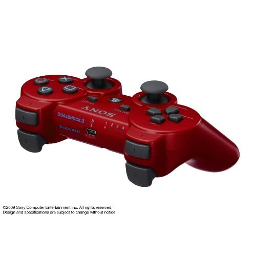 Image 3 of PlayStation 3 Dualshock 3 Wireless Controller Red