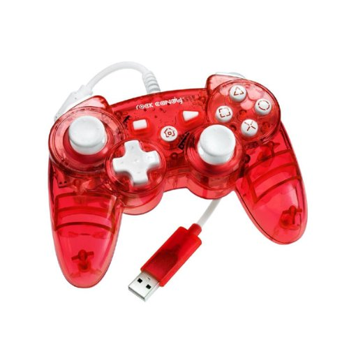 Rock Candy PS3 Controller Red For PlayStation 3