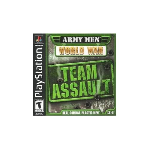 Army Men World War: Team Assault For PlayStation 1 PS1